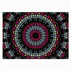 Circles Background Lines  Large Glasses Cloth (2 Side) by amphoto
