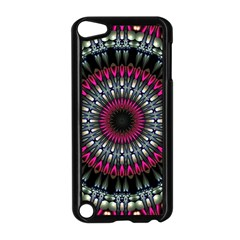 Circles Background Lines  Apple Ipod Touch 5 Case (black) by amphoto