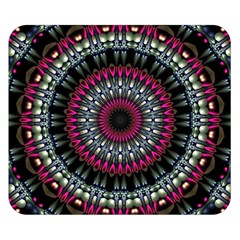 Circles Background Lines  Double Sided Flano Blanket (small)  by amphoto