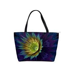 Flower Line Smoke  Shoulder Handbags
