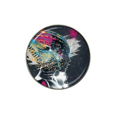 Face Paint Explosion 3840x2400 Hat Clip Ball Marker (4 Pack) by amphoto