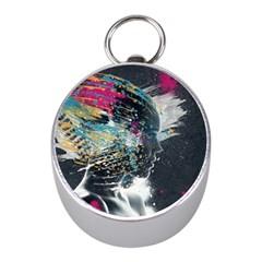 Face Paint Explosion 3840x2400 Mini Silver Compasses by amphoto