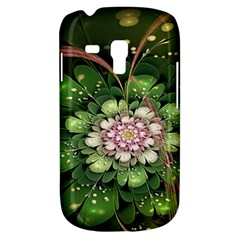 Fractal Flower Petals Green  Galaxy S3 Mini by amphoto