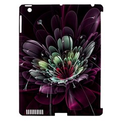 Flower Burst Background  Apple Ipad 3/4 Hardshell Case (compatible With Smart Cover) by amphoto