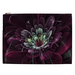 Flower Burst Background  Cosmetic Bag (xxl)  by amphoto