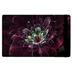 Flower Burst Background  Apple Ipad 3/4 Flip Case by amphoto