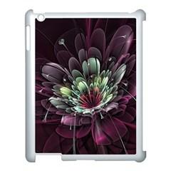 Flower Burst Background  Apple Ipad 3/4 Case (white) by amphoto