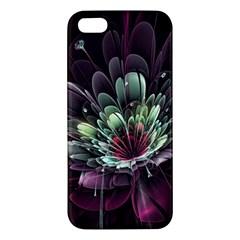 Flower Burst Background  Iphone 5s/ Se Premium Hardshell Case by amphoto