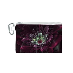 Flower Burst Background  Canvas Cosmetic Bag (s) by amphoto