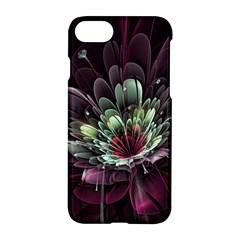 Flower Burst Background  Apple Iphone 7 Hardshell Case by amphoto