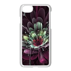 Flower Burst Background  Apple Iphone 7 Seamless Case (white) by amphoto