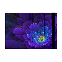 Purple Flower Fractal  Apple Ipad Mini Flip Case