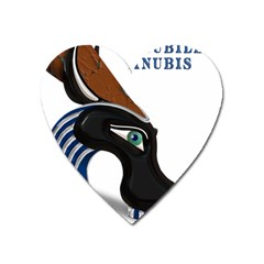 Anubis Sf App Heart Magnet by AnarKissed