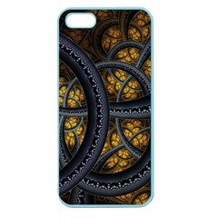 Circles Background Spots  Apple Seamless Iphone 5 Case (color) by amphoto