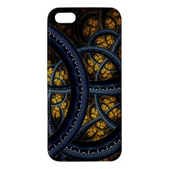 Circles Background Spots  Iphone 5s/ Se Premium Hardshell Case by amphoto