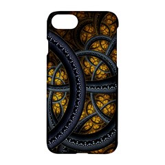 Circles Background Spots  Apple Iphone 7 Hardshell Case by amphoto