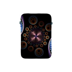 Circles Colorful Patterns  Apple Ipad Mini Protective Soft Cases by amphoto