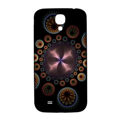 Circles Colorful Patterns  Samsung Galaxy S4 I9500/i9505  Hardshell Back Case by amphoto