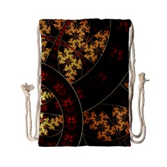 Patterns Line Pattern  Drawstring Bag (small) by amphoto