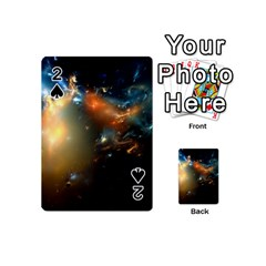 Explosion Sky Spots  Playing Cards 54 (mini)  by amphoto