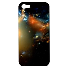 Explosion Sky Spots  Apple Iphone 5 Hardshell Case by amphoto