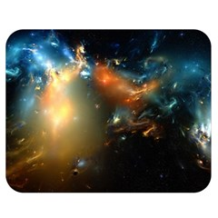 Explosion Sky Spots  Double Sided Flano Blanket (medium)  by amphoto