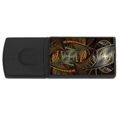 Mosaics Stained Glass Colorful  Rectangular Usb Flash Drive by amphoto
