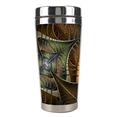Mosaics Stained Glass Colorful  Stainless Steel Travel Tumblers by amphoto