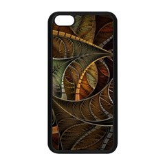 Mosaics Stained Glass Colorful  Apple Iphone 5c Seamless Case (black) by amphoto