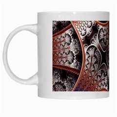 Lines Patterns Background  White Mugs by amphoto