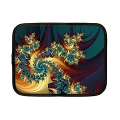 Patterns Paint Ice  Netbook Case (small)  by amphoto