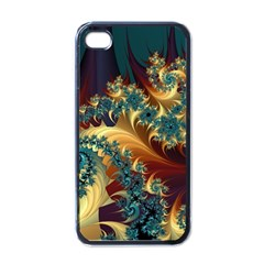 Patterns Paint Ice  Apple Iphone 4 Case (black) by amphoto