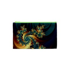 Patterns Paint Ice  Cosmetic Bag (xs) by amphoto