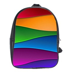Layers Light Bright  School Bag (xl) by amphoto