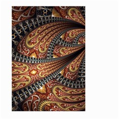 Patterns Background Dark  Large Garden Flag (two Sides) by amphoto
