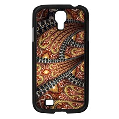 Patterns Background Dark  Samsung Galaxy S4 I9500/ I9505 Case (black) by amphoto