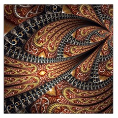 Patterns Background Dark  Large Satin Scarf (square) by amphoto