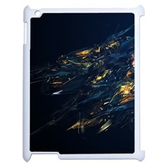 Spots Dark Lines Glimpses 3840x2400 Apple Ipad 2 Case (white) by amphoto