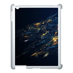 Spots Dark Lines Glimpses 3840x2400 Apple Ipad 3/4 Case (white) by amphoto