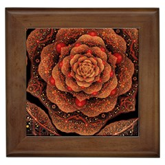 Flower Patterns Petals  Framed Tiles by amphoto