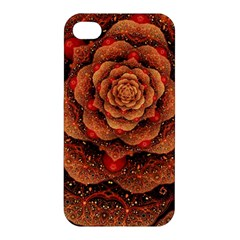 Flower Patterns Petals  Apple Iphone 4/4s Hardshell Case by amphoto