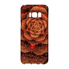 Flower Patterns Petals  Samsung Galaxy S8 Hardshell Case  by amphoto