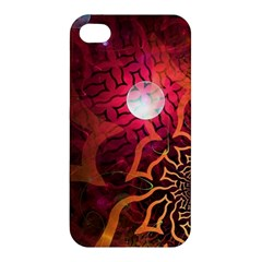 Explosion Background Bright  Apple Iphone 4/4s Hardshell Case by amphoto