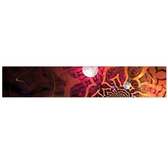 Explosion Background Bright  Flano Scarf (large)