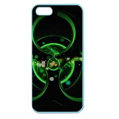 Radiation Sign Spot  Apple Seamless Iphone 5 Case (color) by amphoto