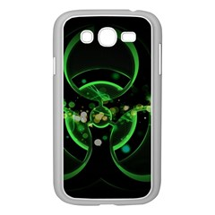 Radiation Sign Spot  Samsung Galaxy Grand Duos I9082 Case (white) by amphoto