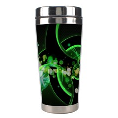 Radiation Sign Spot  Stainless Steel Travel Tumblers by amphoto