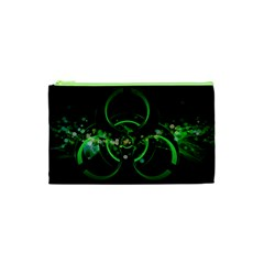Radiation Sign Spot  Cosmetic Bag (xs) by amphoto
