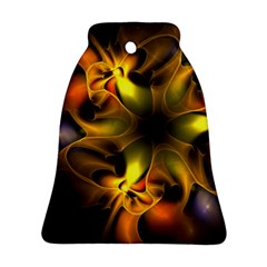 Art Fractal  Bell Ornament (two Sides) by amphoto