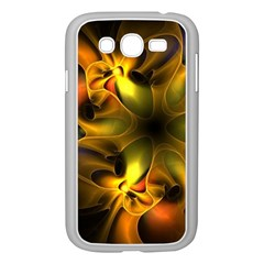 Art Fractal  Samsung Galaxy Grand Duos I9082 Case (white) by amphoto